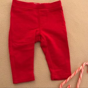 Children's Place Red Sparkle Leggings